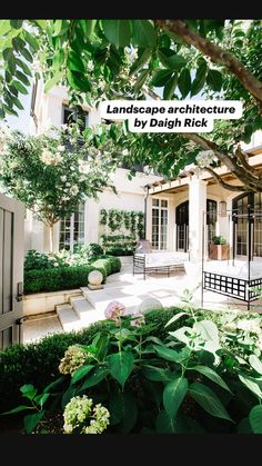 The pergola is not built to give shade as it has number of openings. Backyard Patio Designs, Front Yard Landscaping, Patio Ideas, Landscaping Ideas, Diy Patio, Outdoor Landscaping, Modern Landscape Design, Landscape Architecture, House Landscape
