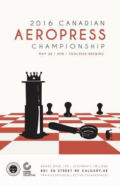 World AeroPress Championship Rad Coffee, Coffee Desk, Coffee Art, Aeropress Coffee, Tool Sheds, Graphic Design Posters, French Press, Barista, Brewing