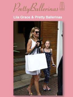 De tal palo, tal astilla. No os perdáis a la hija de Kate Moss Page, Lila Grace, con sus Pretty Ballerinas de la colección SS14, mientras pasa una jornada de compras en Brasil.