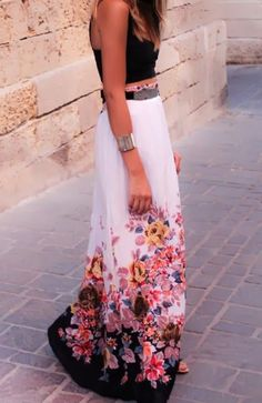 LoLoBu - Women look, Fashion and Style Ideas and Inspiration, Dress and Skirt Look 2014 Trends, Summer Trends, Look Fashion, Fashion Beauty, Skirt Fashion, Runway Fashion, Fashion Dresses, Fashion Trends, Mode Shoes
