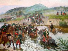Russian Cavalry north of Poltava