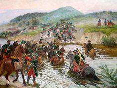Russian Cavalry north of Poltava