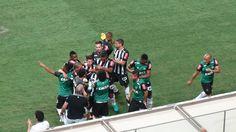 Galo supera próprio recorde e empata com Santos em série como mandante #globoesporte