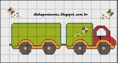 http://dinhapontocruz.blogspot.com.br/2015/01/monograma-caminhao-by-dinha.html