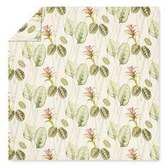 Printed Ginger Flower Bedding, Multicolor