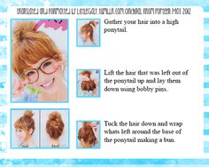 bun for short hair tutorial-....i will be chopping my hair sometime this year :) will come in handy