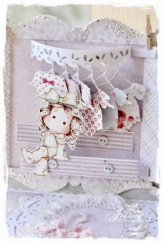Hi everyone I made a Tilda's wardrobe card today. Open the pink wardrobe. Magnolia Blog, Magnolia Stamps, Pink Wardrobe, Belle And Boo, Chest Drawers, Mini Album Tutorial, Some Cards, Card Tags, Scrapbooks