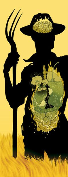 Too hot for life. By Tomer Hanuka in Spring 2007.