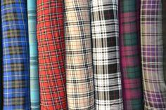 Polyviscose Tartan Fabric - Plaid check - 150 cm Wide. | Crafts, Fabric | eBay!