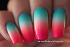 30 Easy Gradient Nail Art Ideas 2015 – UK Fashion