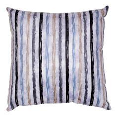 Dewey Striped Accent Throw Pillow