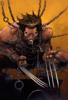 Leinil Yu was first recognized after winning the Wizard's Drawing Board Contest, his first published work. Wildstorm passed on samples of Yu's work to Marvel Comics, who subsequently hired him to work on Wolverine. Comic Movies, Comic Book Characters, Comic Book Heroes, Marvel Characters, Comic Character, Comic Books Art, Comic Art, Wolverine Art, Logan Wolverine