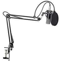 Neewer NW-700 Professional Studio Broadcasting Recording Condenser Microphone & NW-35 Adjustable Recording Microphone Suspension Scissor Arm Stand with Shock Mount and Mounting Clamp Kit Neewer Professional Broadcasting Microphone Adjustable is a top quality pick in the best selling products in Musical Instruments category in Canada. Click below to see its Availability and Price in YOUR country.