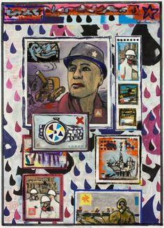 "Saatchi Art Artist Ahmed Borai; Painting, ""Warehouse world wide.blackgold.oil"" #art"