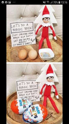 of the Best Elf on the Shelf Ideas Elf Dust - Over 40 of the BEST Elf on the Shelf ideas!<br> Over 40 of the BEST Elf on the Shelf ideas! Such a fun Christmas tradition that the kids just and these ideas are so fun and cute! Fun Christmas, Xmas Elf, All Things Christmas, Holiday Fun, Festive, Christmas Elf Decorations, Awesome Elf On The Shelf Ideas, Elf Is Back Ideas, Elf On The Shelf Ideas For Toddlers