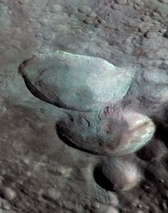 Vesta, more than an asteroid. almost a planet or like Pluto, a dwarf planet.