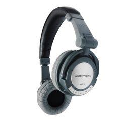 Maxtron Bluetooth Headset Max - Super Mega Bass - Hitam