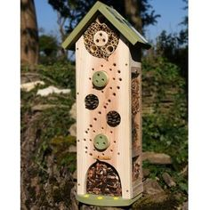 The Big Insect Biome is a beautiful bee and bug hotel which makes a stylish and practical addition to your garden or veg plot. Bug Hotel, Sutton Seeds, Big Bee, Front Garden Landscape, Mason Bees, Garden Bugs, Garden Animals, Garden Decor Items, Gardens