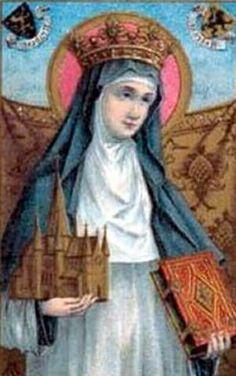 Saint Begga of Landen was my 41st great grandmother