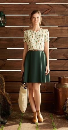 I love a quirky print, but have a really hard time matching skirts with blouses, so don't often wear skirts.