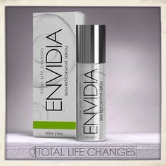 Envidia™ may greatly improve the elasticity of the skin and the appearance of smoother skin. Cell Growth, Emu Oil, Cell Regeneration, Skin Serum, Anti Aging Serum, Voss Bottle, Nail Polish, Skin Care, Change