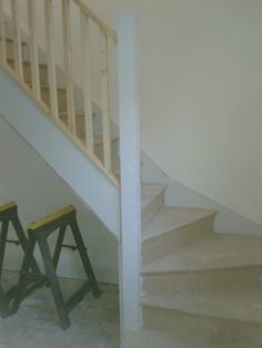 Kite winder staircase made on site