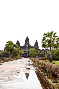 Angkor Wat at closing time.