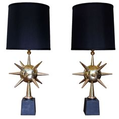 Important Verna Cook Shipway Table Lamps c.1950's (One off 1/1)   From a unique collection of antique and modern table lamps at http://www.1stdibs.com/furniture/lighting/table-lamps/