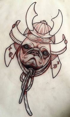 Find the perfect tattoo artist to create the work of art that is you Japanese Mask Tattoo, Japanese Flower Tattoo, Dibujos Tattoo, Desenho Tattoo, Pug Tattoo, Baby Tattoos, Tattoo Ink, Tattoo Sketches, Tattoo Drawings