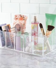 Loving this Clarity Cosmetic & Vanity Organizer on #zulily! #zulilyfinds