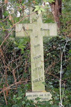 Abney Park Cemetery, London by christopherlevy, via Flickr