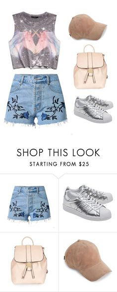 """""""Sin título #2187"""" by lorena117 ❤ liked on Polyvore featuring Forever 21, adidas Originals, Topshop and rag & bone"""