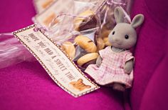 Love these favors at a Sylvanian Families party!   See more party ideas at CatchMyParty.com!  #partyideas #sylvanian