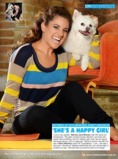 Time for another installment of my OK! Pets page. This week we feature 'Retired at 35' star Marissa Jaret Winokur and her baby Lola. Pick up a copy of OK! magazine on news stands everywhere and read about Lola.
