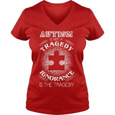 Autism Is Not A Tragedy =>   If you dont like this design please use the Search Bar on the top to find the best one for you Simply type the keyword and hit Enter          100% Cotton Adult 30/1s Tee Shirt  5.2 oz 100% Ringspun Cotton, Preshrunk Jersey  Tubular  5/8 inch Seamless Rib Knit Collar  Taped neck and shoulders  Double-Needle Sleeve and Bottom Hem  Quarter-turned to eliminate center crease    According to customer feedback…