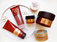 A selection of The Body Shop items that I've been putting in my basket recently. Beauty Review, Coffee Bottle, The Body Shop, Make Up, Skin Care, Shopping, Maquillaje, Makeup, Skincare