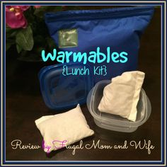 Frugal Mom and Wife: Warmables {Lunch Kit} Review! #warmables