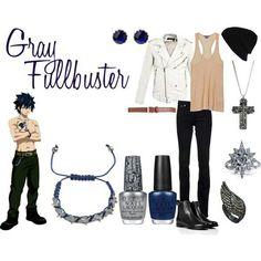 Casual Cosplay - Gray Fullbuster...For those who go to con and do not want to snag all the attention ;)
