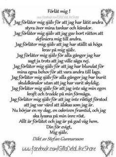 Förlåt mig - dikt av Stefan Gunnarsson