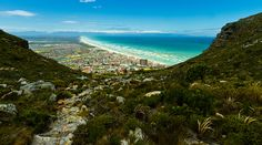 Hiking on the Silvermine mountain above Muizenberg. Views of False Bay and Muizenberg from above. Table Mountain, School Fun, South Africa, Surfing, National Parks, Hiking, Ocean, Mountains, Lifestyle