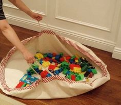Lego Mat - This is a really cool idea!