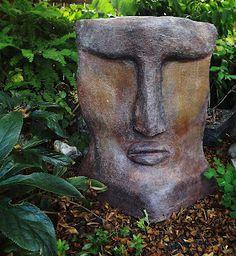 cement garden art