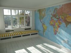 Map for boy room
