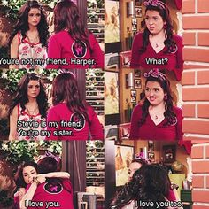 Wizards of waverly place. I got teary eyed during this…