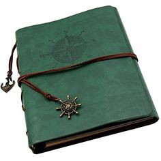 Insho 60 Pages Scrapbook DIY Vintage Leather Photo Mini Album Book Handmade DIY Photo Album Anniversary Scrapbook Wedding Photo Album  Green -- Click image for more details.Note:It is affiliate link to Amazon.