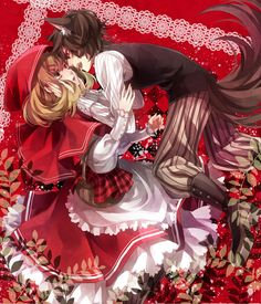 Big Bad Wolf and Red Riding Hood, Little Red Riding Hood
