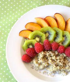 Coconut Breakfast Quinoa #raw #vegan