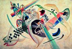 Cercle bleu (1922) de Kandinsky! The Guggenheim Museum, New York