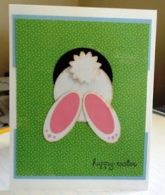 Love this Easter card!  Too cute!