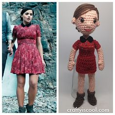 Ravelry: Clara Oswald Doctor Who Companion Amigurumi pattern by Allison Hoffman